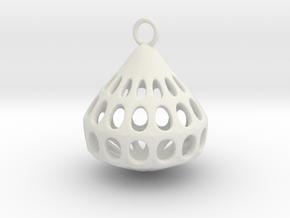 holey plum earring 2 in White Natural Versatile Plastic