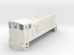 3mm Scale 121 in White Natural Versatile Plastic