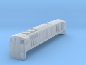CIE Class 071 N Scale in Smooth Fine Detail Plastic
