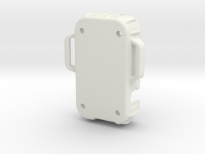 Custom WR Enclosure - Lower Half - Scaled to 90 Pe in White Strong & Flexible