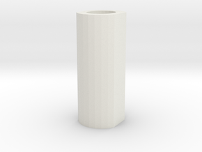 "pommel core hollow 2"" in White Natural Versatile Plastic"