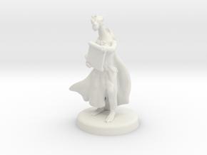 Ajrezai (Dragonborn Warlock) in White Natural Versatile Plastic