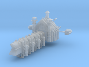 Gothic Battleship in Frosted Ultra Detail