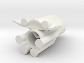 8 Two Stage To Orbit (TSTO) in White Natural Versatile Plastic
