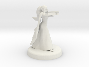 Bethrynna (Eladrin wizardess) in White Natural Versatile Plastic
