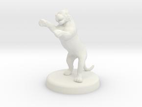 Cora Faral (Tigress - Feral State) in White Natural Versatile Plastic