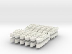 9-torpBoat x24 in White Natural Versatile Plastic