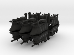 Gothic Hover Tank x12 in Black Strong & Flexible