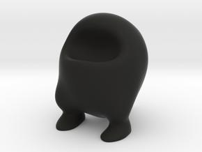 Fat Frankie (6cm) in Black Strong & Flexible