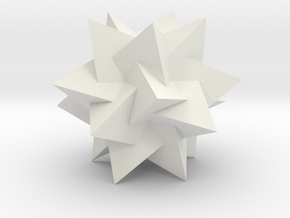 Compound of 5 Tetrahedra in White Strong & Flexible
