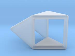 d4 double prism blank in Smooth Fine Detail Plastic
