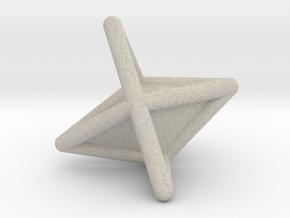 d6 die-pyramid blank in Natural Sandstone