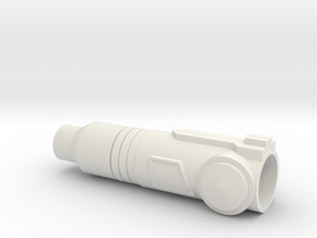 Arm Cannon in White Natural Versatile Plastic