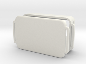 SkydiveGPSV4.3 in White Natural Versatile Plastic