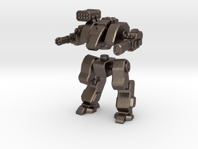 Terran Assault Walker in Polished Bronzed Silver Steel