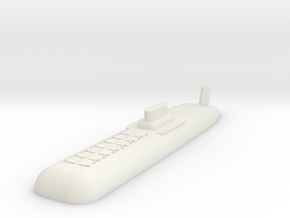 9 SSBN in White Natural Versatile Plastic
