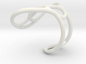Ring 1.1 in White Natural Versatile Plastic