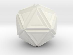 Lumpy in White Natural Versatile Plastic