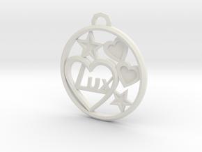 CIondolo 10 in White Natural Versatile Plastic