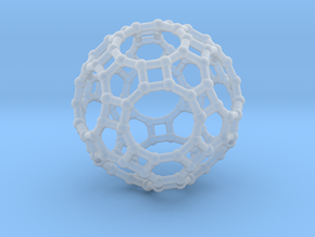 Truncated icosidodecahedron in Smooth Fine Detail Plastic