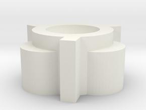 12Feb01 in White Natural Versatile Plastic