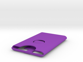 Card Carrier 2.0 in Purple Strong & Flexible Polished
