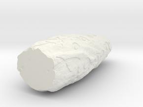 Chaos Stone in White Natural Versatile Plastic