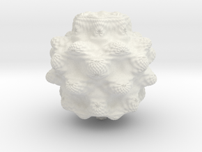 Mandelbulb in White Strong & Flexible