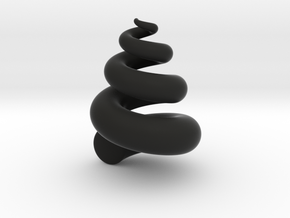 Fat Spiral in Black Strong & Flexible