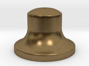 """1"""" Scale Bell in Natural Bronze"""