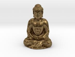 Buddha  in Natural Bronze