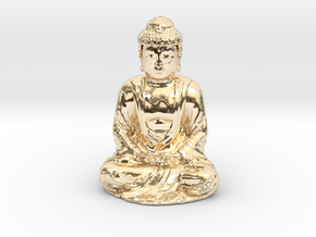 Buddha  in 14K Yellow Gold