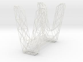 pont3 in White Natural Versatile Plastic