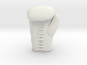 boxing glove in White Natural Versatile Plastic