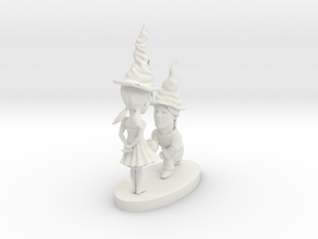 gnome couple in White Natural Versatile Plastic