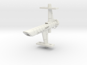 Mulcien Pavonis Class Carrier in White Natural Versatile Plastic