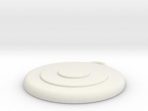 Target 3 in White Natural Versatile Plastic