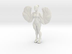 Woman2 in White Natural Versatile Plastic