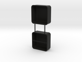 Ring Box in Black Strong & Flexible