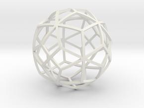 o7 in White Natural Versatile Plastic