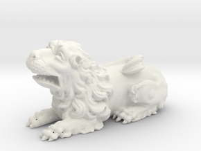 Lion V01 in White Strong & Flexible