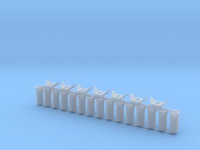 Concrete Pipes - 3x10 feet - Zscale in Smooth Fine Detail Plastic