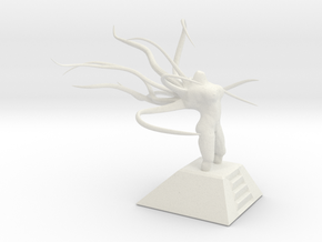 Alien Goddess - Large Version in White Natural Versatile Plastic