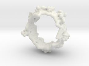 Facet in White Natural Versatile Plastic