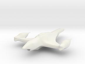 Wanda in White Natural Versatile Plastic
