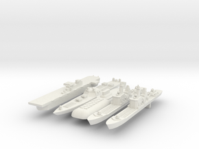 1:6000 Fleet in White Strong & Flexible