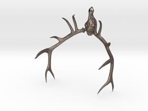 Elk Skull  in Stainless Steel