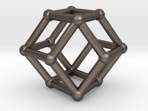 Rhombic dodecahedron in Stainless Steel