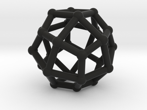 Deltoidal icositetrahedron in Black Strong & Flexible