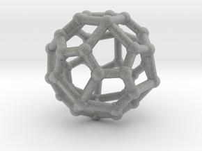 Pentagonal icositetrahedron in Metallic Plastic